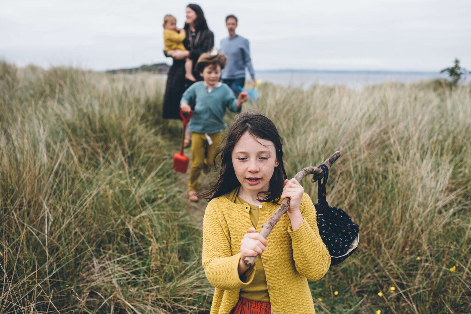 Natural Family Photographer Edinburgh